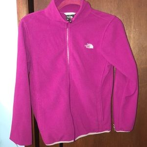North face sweater burgundy